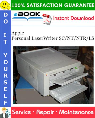 Thumbnail ☆☆ Best ☆☆ Apple Personal LaserWriter SC/NT/NTR/LS Service Repair Manual