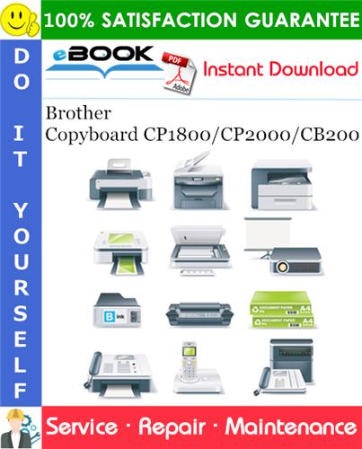 Thumbnail ☆☆ Best ☆☆ Brother Copyboard CP1800/CP2000/CB200 Service Repair Manual