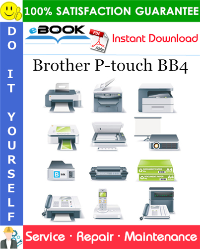 Thumbnail ☆☆ Best ☆☆ Brother P-touch BB4 Service Repair Manual