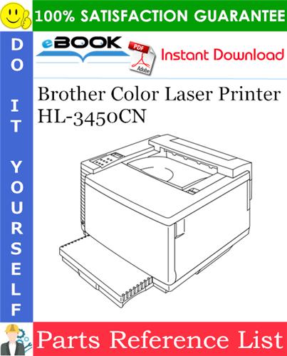 Thumbnail ☆☆ Best ☆☆ Brother Color Laser Printer HL-3450CN Parts Reference List