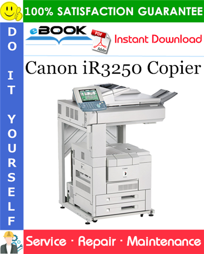 Thumbnail ☆☆ Best ☆☆ Canon iR3250 Copier Service Repair Manual + Parts Catalog