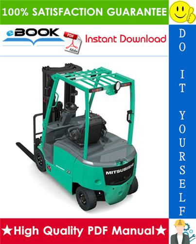 Thumbnail ☆☆ Best ☆☆ Mitsubishi FB10KRT PAC, FB12KRT PAC, FB15KRT PAC Forklift Trucks Service Repair Manual