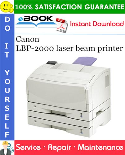 Thumbnail ☆☆ Best ☆☆ Canon LBP-2000 laser beam printer Service Repair Manual