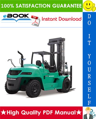 Thumbnail ☆☆ Best ☆☆ Mitsubishi FD100, FD115, FD135, FD150A Forklift Trucks Service Repair Manual