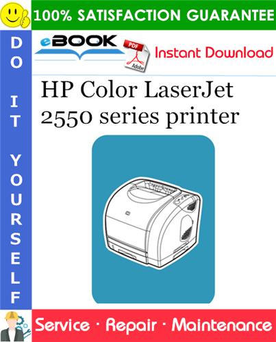 Thumbnail ☆☆ Best ☆☆ HP Color LaserJet 2550 series printer Service Repair Manual