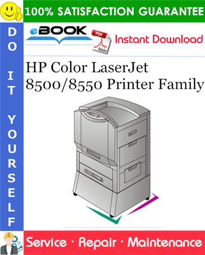Thumbnail ☆☆ Best ☆☆ HP Color LaserJet 8500/8550 Printer Family Service Repair Manual