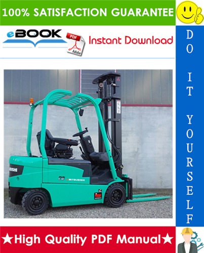 Thumbnail ☆☆ Best ☆☆ Mitsubishi FB16N, FB18N, FB20CN Forklift Trucks Service Repair Manual