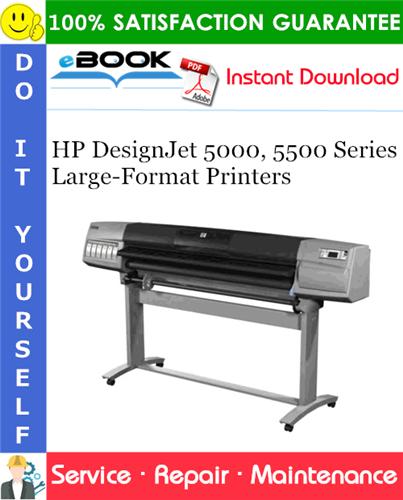 Thumbnail ☆☆ Best ☆☆ HP DesignJet 5000, 5500 Series Large-Format Printers Service Repair Manual