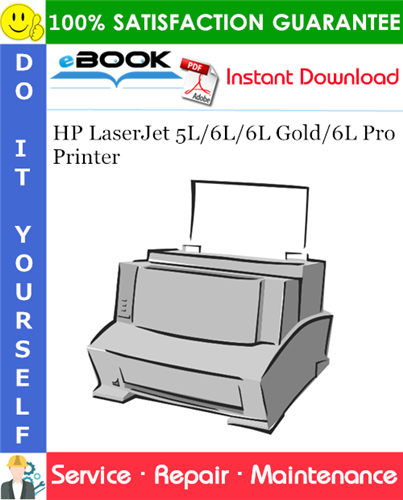 Thumbnail ☆☆ Best ☆☆ HP LaserJet 5L/6L/6L Gold/6L Pro Printer Service Repair Manual