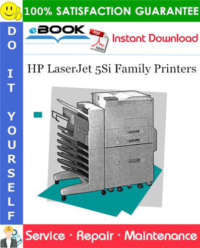 Thumbnail ☆☆ Best ☆☆ HP LaserJet 5Si Family Printers Service Repair Manual