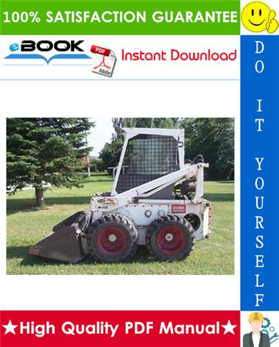 Thumbnail ☆☆ Best ☆☆ Bobcat M444, M500, M600 (Gasoline L.P. Gas Electric Diesel) Skid Steer Loader Operation & Maintenance Manual