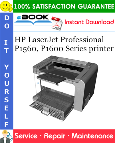 Thumbnail ☆☆ Best ☆☆ HP LaserJet Professional P1560, P1600 Series printer Service Repair Manual