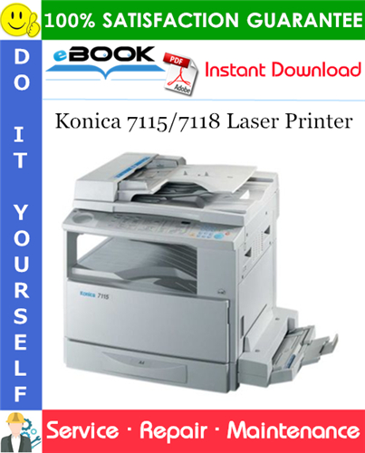 Thumbnail ☆☆ Best ☆☆ Konica 7115/7118 Laser Printer Service Repair Manual