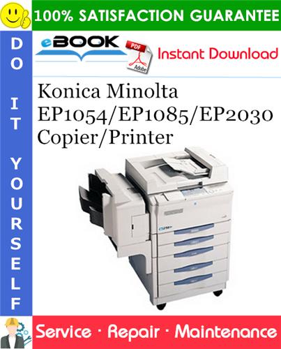 Thumbnail ☆☆ Best ☆☆ Konica Minolta EP1054/EP1085/EP2030 Copier/Printer Service Repair Manual + Parts Catalog