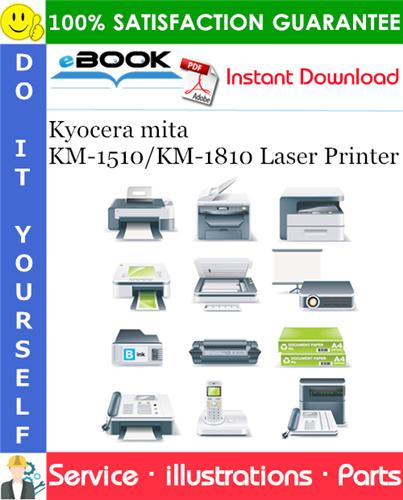 Thumbnail ☆☆ Best ☆☆ Kyocera mita KM-1510/KM-1810 Laser Printer Parts Manual