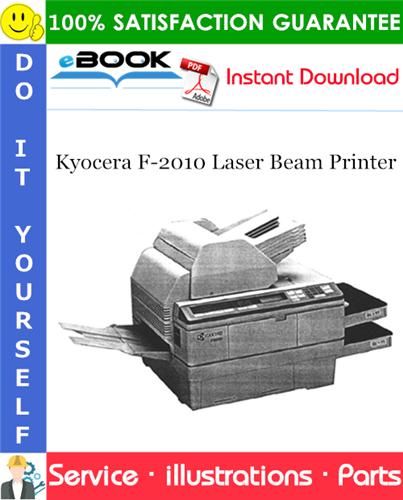 Thumbnail ☆☆ Best ☆☆ Kyocera F-2010 Laser Beam Printer Parts Catalogue Manual