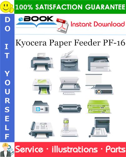 Thumbnail ☆☆ Best ☆☆ Kyocera Paper Feeder PF-16 Parts Catalogue Manual