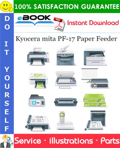 Thumbnail ☆☆ Best ☆☆ Kyocera mita PF-17 Paper Feeder Parts Manual