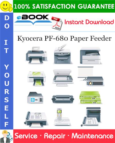 Thumbnail ☆☆ Best ☆☆ Kyocera PF-680 Paper Feeder Service Repair Manual + Parts Catalog