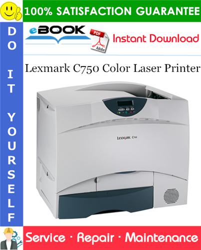 Thumbnail ☆☆ Best ☆☆ Lexmark C750 Color Laser Printer Service Repair Manual