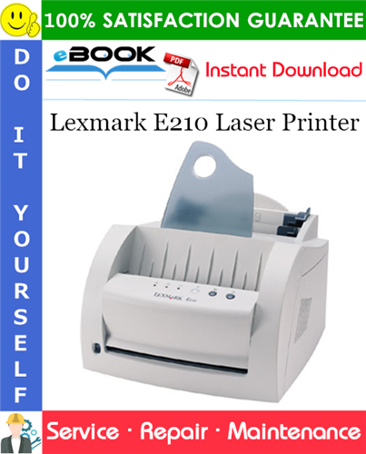 Thumbnail ☆☆ Best ☆☆ Lexmark E210 Laser Printer Service Repair Manual