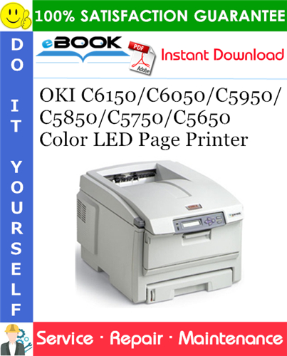 Thumbnail ☆☆ Best ☆☆ OKI C6150/C6050/C5950/C5850/C5750/C5650 Color LED Page Printer Service Repair Manual