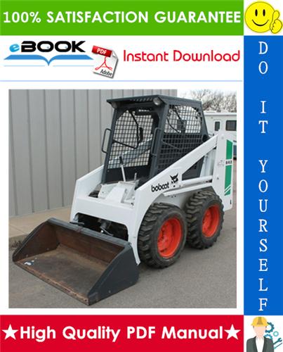 Thumbnail ☆☆ Best ☆☆ Bobcat 641, 642, 642B, 643 Skid Steer Loader Operation & Maintenance Manual