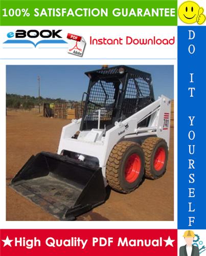 Thumbnail ☆☆ Best ☆☆ Bobcat 741 Skid Steer Loader Operation & Maintenance Manual