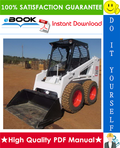 Thumbnail ☆☆ Best ☆☆ Bobcat 743DS Skid Steer Loader Operation & Maintenance Manual