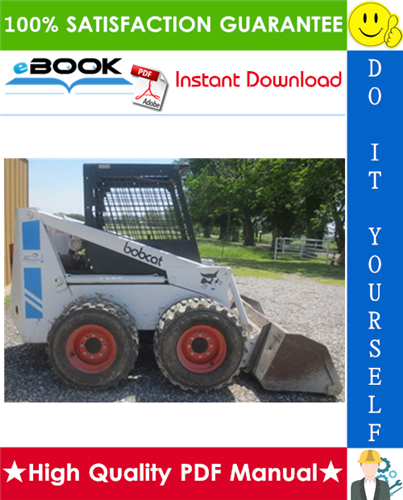 Thumbnail ☆☆ Best ☆☆ Bobcat 825 Skid Steer Loader Operation & Maintenance Manual