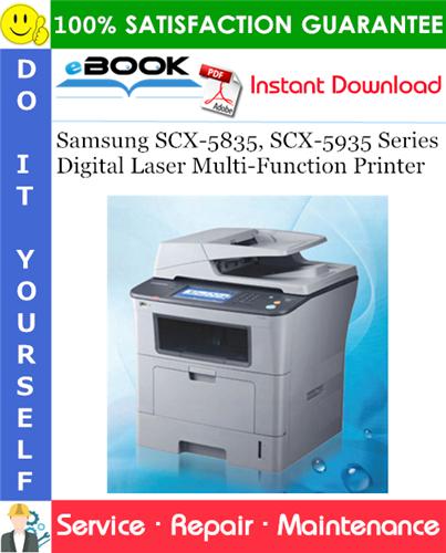 Thumbnail ☆☆ Best ☆☆ Samsung SCX-5835, SCX-5935 Series Digital Laser Multi-Function Printer Service Repair Manual