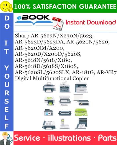 Thumbnail ☆☆ Best ☆☆ Sharp AR-5623N/X230N/5623, AR-5623D/5623DA, AR-5620N/5620, AR-5620NM/X200, AR-5620D/X200D/5620S, AR-5618N/5618/X180, AR-5618D/5618S/X180S, AR-5620SL/5620SLX, AR-