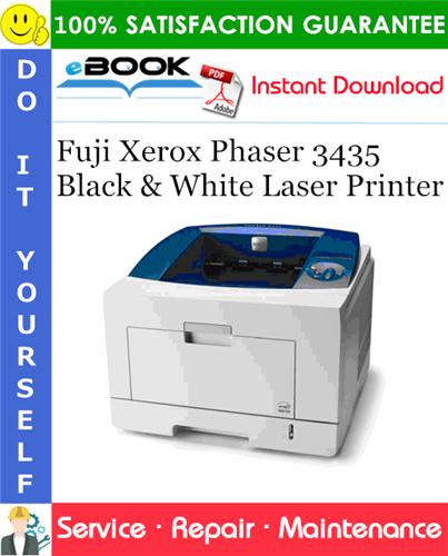 Thumbnail ☆☆ Best ☆☆ Fuji Xerox Phaser 3435 Black & White Laser Printer Service Repair Manual
