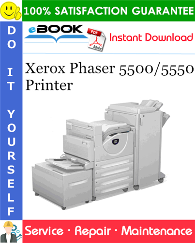 Thumbnail ☆☆ Best ☆☆ Xerox Phaser 5500/5550 Printer Service Repair Manual