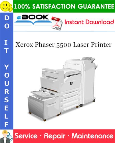 Thumbnail ☆☆ Best ☆☆ Xerox Phaser 5500 Laser Printer Service Repair Manual