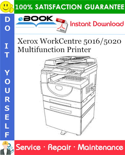 Thumbnail ☆☆ Best ☆☆ Xerox WorkCentre 5016/5020 Multifunction Printer Service Repair Manual