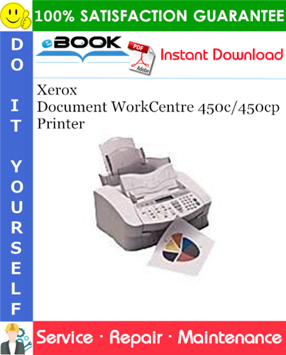 Thumbnail ☆☆ Best ☆☆ Xerox Document WorkCentre 450c/450cp Printer Service Repair Manual