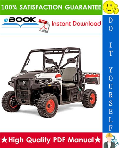 Thumbnail ☆☆ Best ☆☆ Bobcat 3400, 3400XL Utility Vehicle Operation & Maintenance Manual