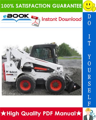 Thumbnail ☆☆ Best ☆☆ Bobcat A770 All-Wheel Steer Loader Operation & Maintenance Manual