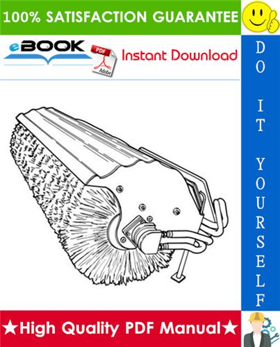 Thumbnail ☆ High-Quality ☆ Bobcat 68, 84 Angle Broom Operation & Maintenance Manual
