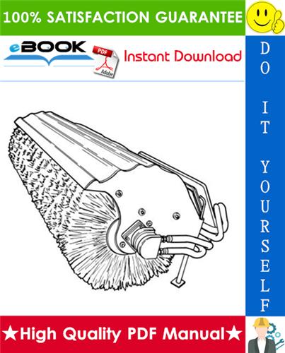 Thumbnail ☆ High-Quality ☆ Bobcat 48 Inch Angle Broom Operation & Maintenance Manual