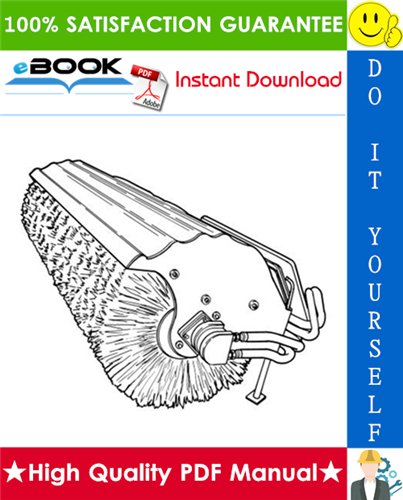 Thumbnail ☆ High-Quality ☆ Bobcat Angle Broom Operation & Maintenance Manual