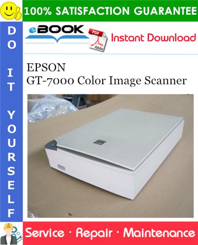 Thumbnail ☆☆ Best ☆☆ EPSON GT-7000 Color Image Scanner Service Repair Manual