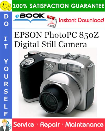 Thumbnail ☆☆ Best ☆☆ EPSON PhotoPC 850Z Digital Still Camera Service Repair Manual