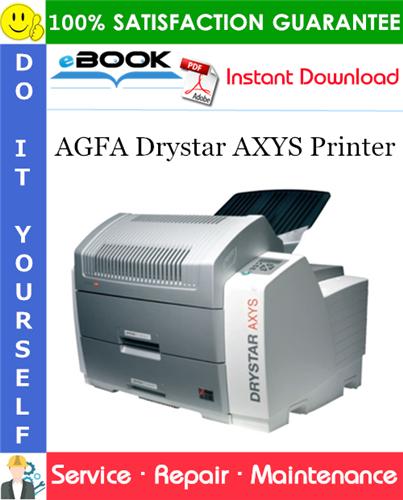 Thumbnail ☆☆ Best ☆☆ AGFA Drystar AXYS Printer Service Repair Manual