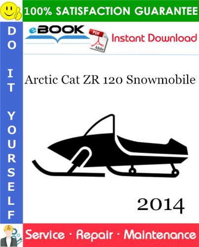 Thumbnail ☆☆ Best ☆☆ 2014 Arctic Cat ZR 120 Snowmobile Service Repair Manual
