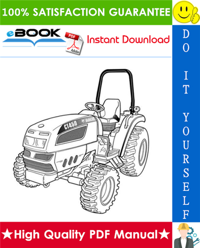 Thumbnail ☆☆ Best ☆☆ Bobcat CT450 Compact Tractor (HST) & (SST) Operation & Maintenance Manual