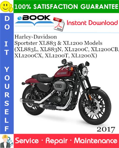 Thumbnail ☆☆ Best ☆☆ 2017 Harley-Davidson Sportster XL883 & XL1200 Models (XL883L, XL883N, XL1200C, XL1200CB, XL1200CX, XL1200T, XL1200X) Motorcycle Service Repair Manual