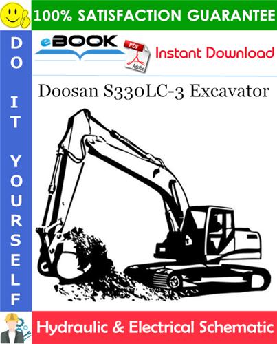 Thumbnail ☆☆ Best ☆☆ Doosan S330LC-3 Excavator Hydraulic & Electrical Schematic