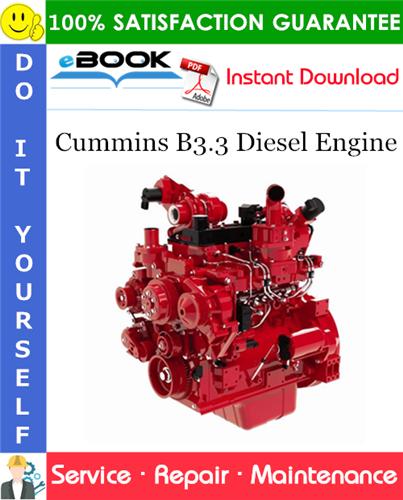 Thumbnail ☆☆ Best ☆☆ Cummins B3.3 Diesel Engine Service Repair Manual
